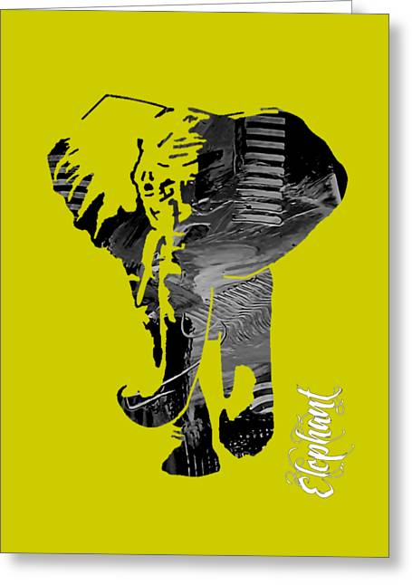 Elephant Collection Greeting Card