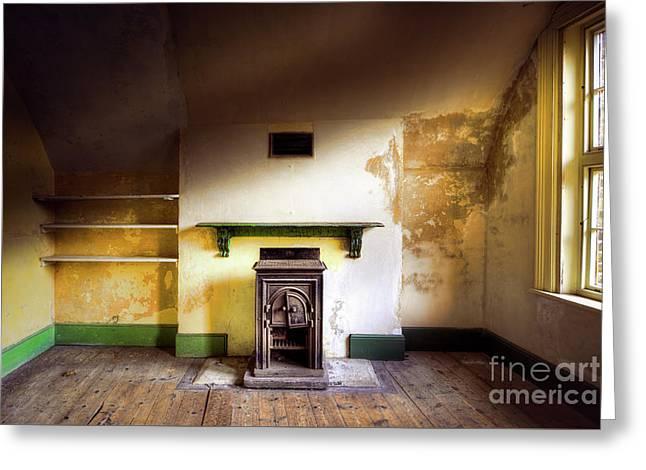 Empty Room Greeting Card by Svetlana Sewell