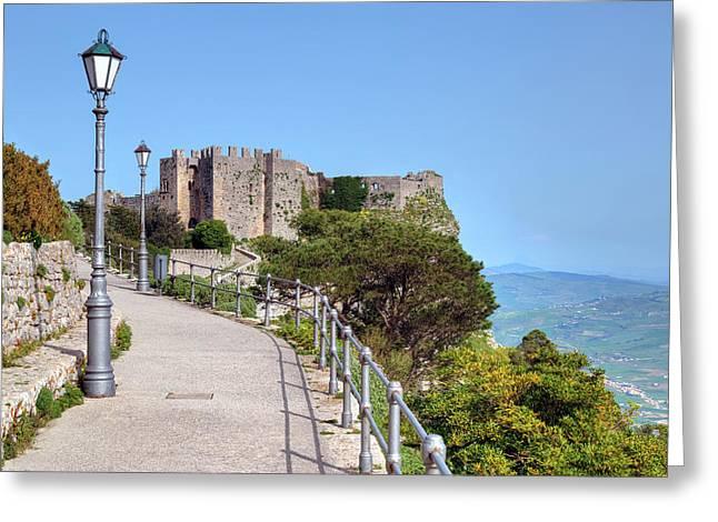 Erice - Sicily Greeting Card