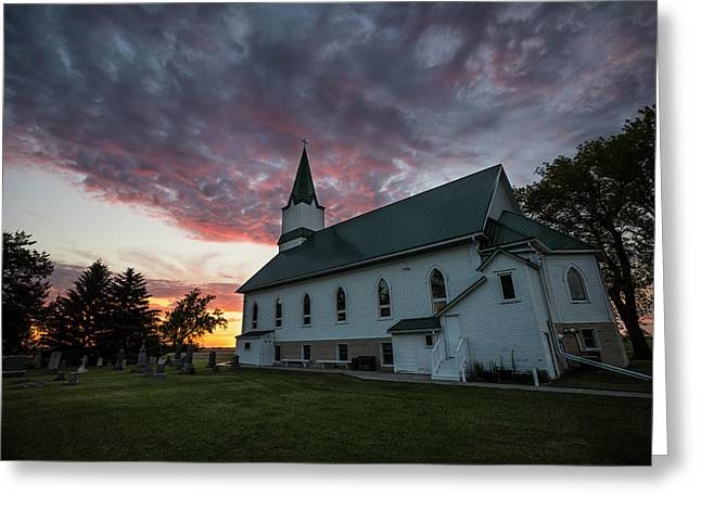 Greeting Card featuring the photograph Faith  by Aaron J Groen