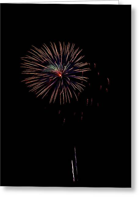 Fireworks Greeting Card by Jason Blalock