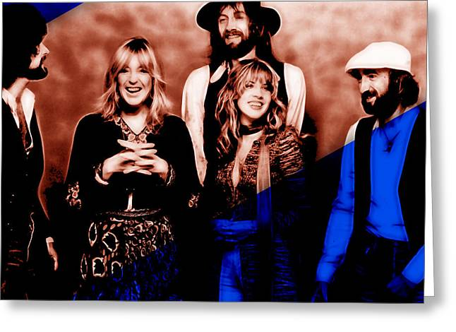 Fleetwood Mac Collection Greeting Card