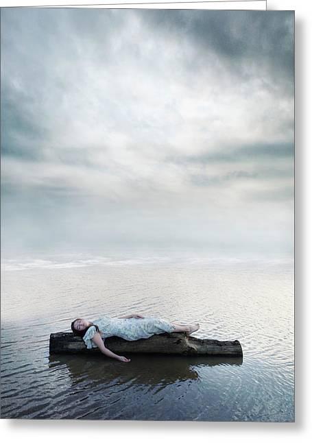 Floating Greeting Card by Joana Kruse