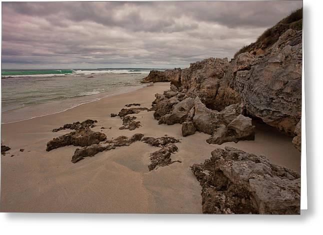 Flour Cask Bay Kangaroo Island Greeting Card