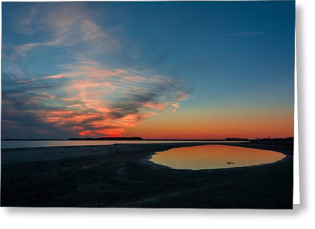 Folly Beach Greeting Card by RC Pics