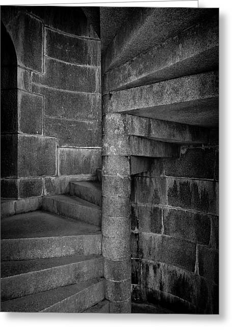 Spiral Staircase Greeting Cards - Fort knox Greeting Card by Chad Tracy