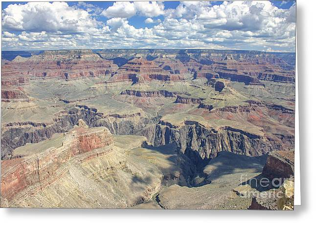 Grand Canyon Greeting Card by Patricia Hofmeester