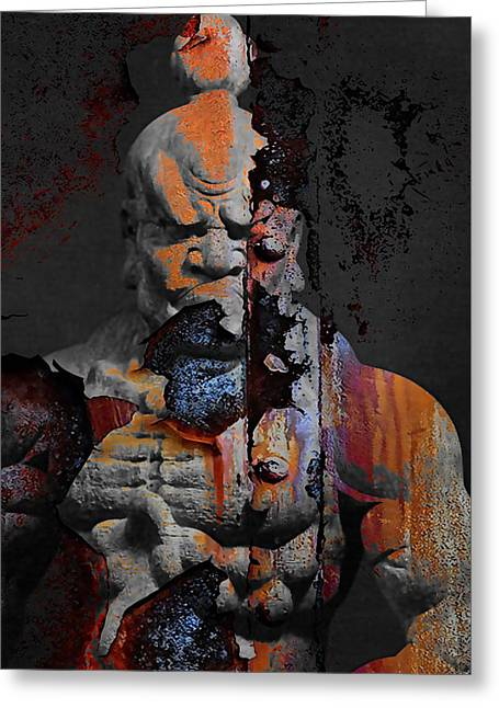 Guardians Collection Greeting Card by Martial Arts  Fine Art