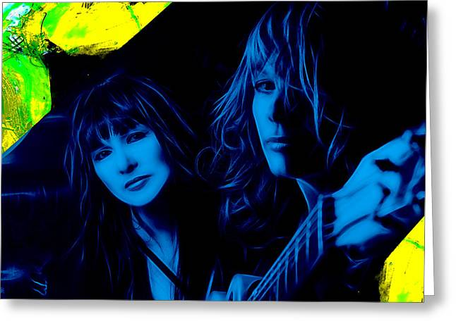 Heart Ann And Nancy Wilson Collection Greeting Card