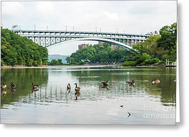 Henry Hudson Bridge Greeting Card
