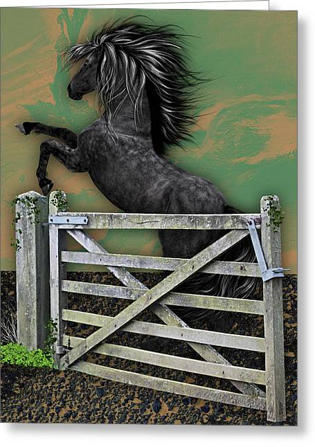 Horse Dreams Collection Greeting Card