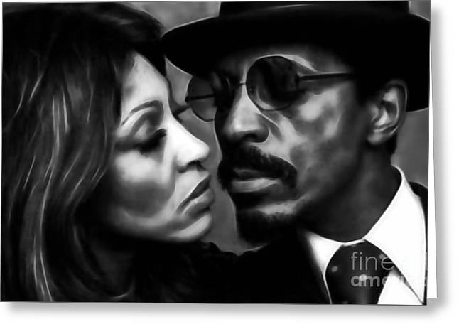 Ike And Tina Turner Collection Greeting Card