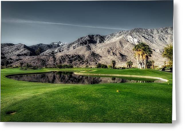 Indian Canyons Golf Resort Greeting Card by Mountain Dreams