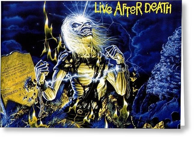 Iron Maiden Greeting Cards Fine Art America