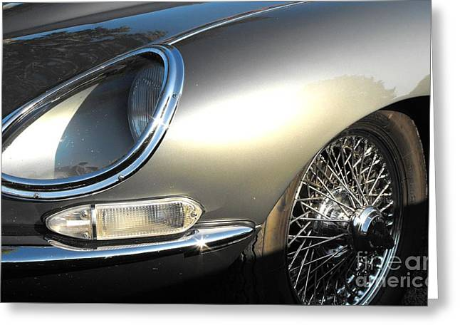 Jaguar E-type Greeting Card