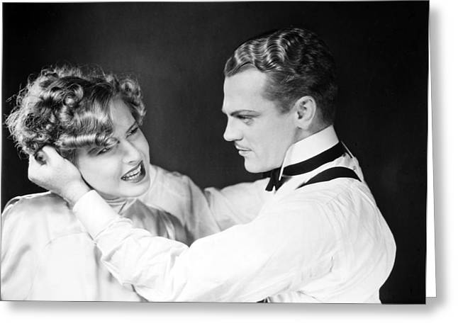 James Cagney (1899-1986) Greeting Card by Granger