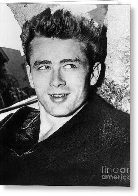 James Dean (1931-1955) Greeting Card by Granger