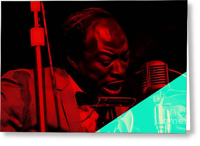 Jimmy Reed Collection Greeting Card by Marvin Blaine