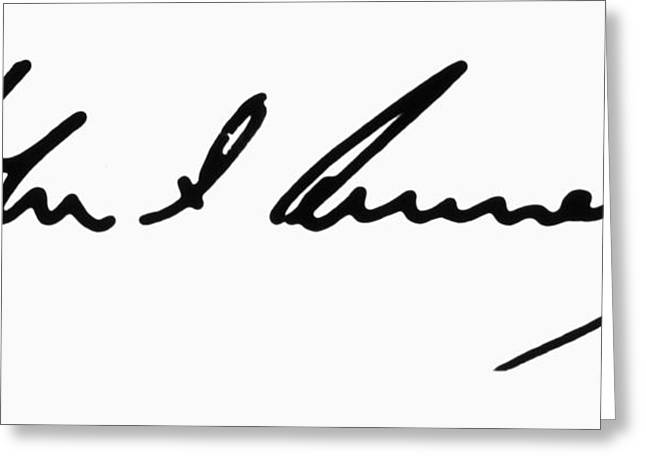 John F. Kennedy Greeting Card