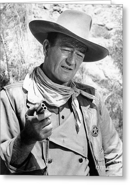 John Wayne (1907-1979) Greeting Card by Granger