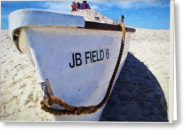 Jones Beach Greeting Card by JC Findley