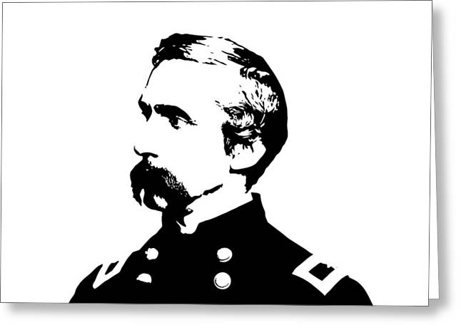 Joshua Lawrence Chamberlain  Greeting Card by War Is Hell Store