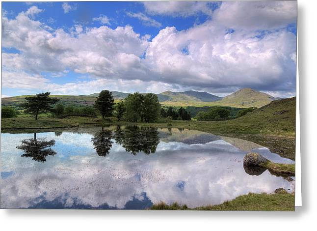 Kelly Hall Tarn - Lake District Greeting Card by Joana Kruse