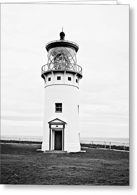 Kilauea Lighthouse Greeting Card by Scott Pellegrin