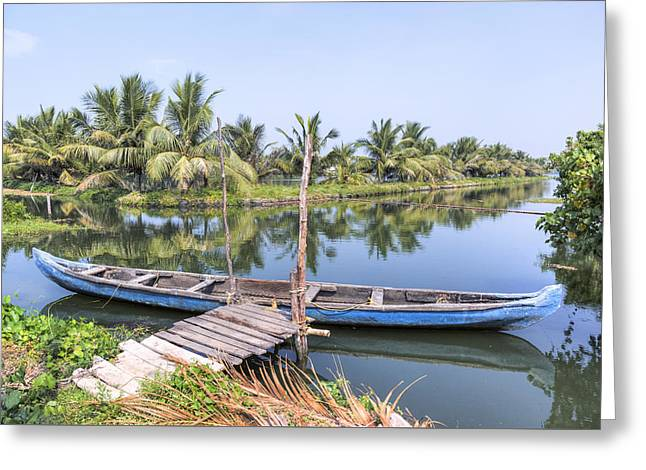 Kochi - India Greeting Card by Joana Kruse