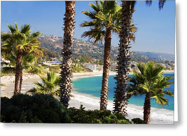 Laguna Beach California Coast Greeting Card
