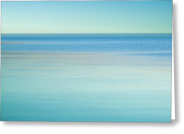 Lake Ontario - Abstarct Photography Greeting Card