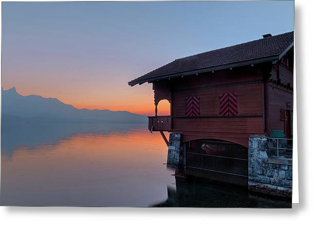 Lake Thun - Switzerland Greeting Card