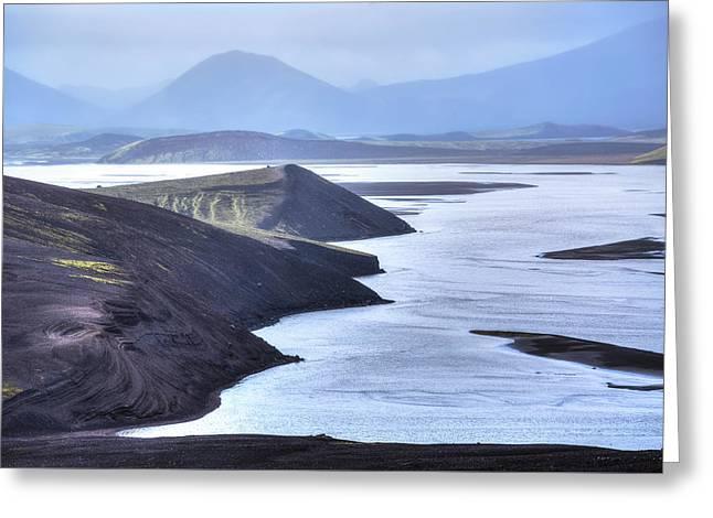 Landmannalaugar - Iceland Greeting Card by Joana Kruse