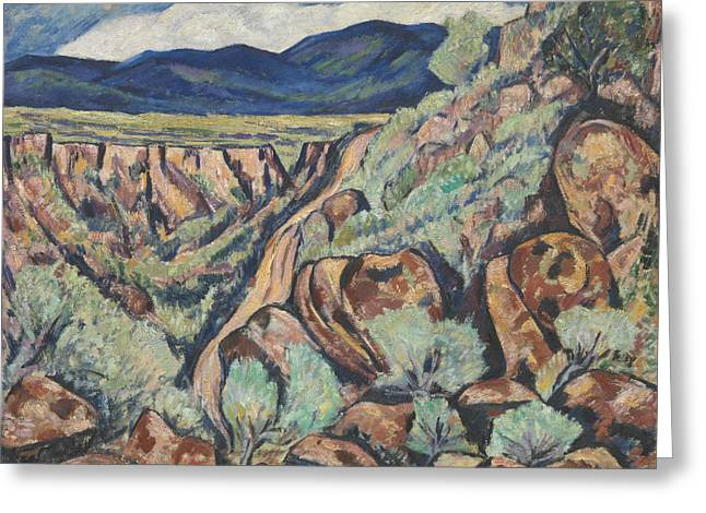 Landscape, New Mexico Greeting Card