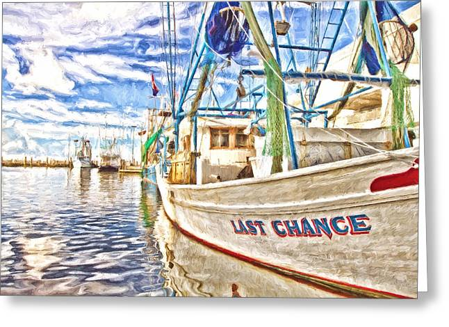 Last Chance Greeting Card by Scott Pellegrin