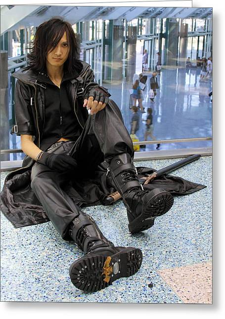 Los Angeles Animexpo 2009 Greeting Card by Viktor Savchenko
