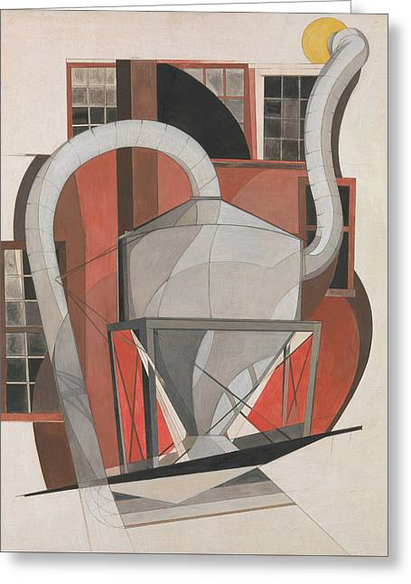 Machinery Greeting Card by Charles Demuth