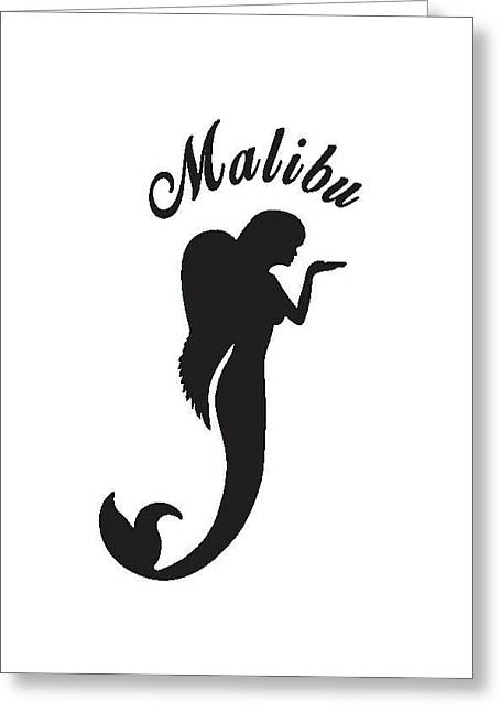 Malibu Mer Angels Greeting Card by Chrystyna Wolford