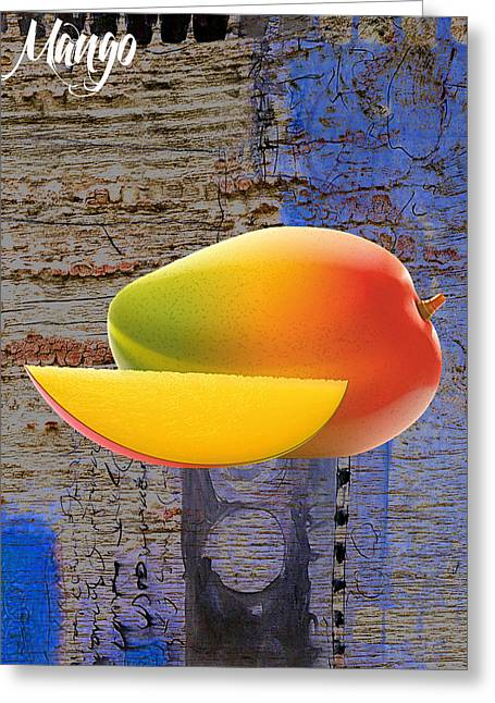 Mango Collection Greeting Card by Marvin Blaine