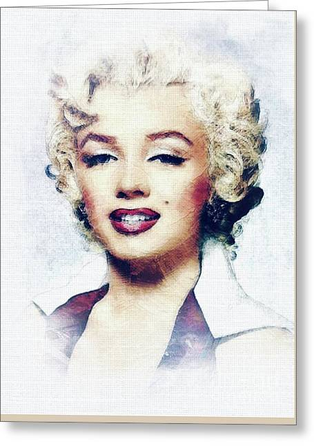 Marilyn Monroe Greeting Cards (Page #6 of 35) | Fine Art ...