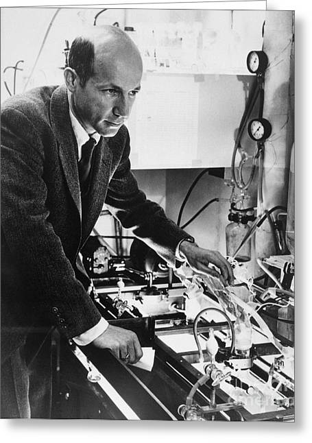 Melvin Calvin, American Chemist Greeting Card by Science Source