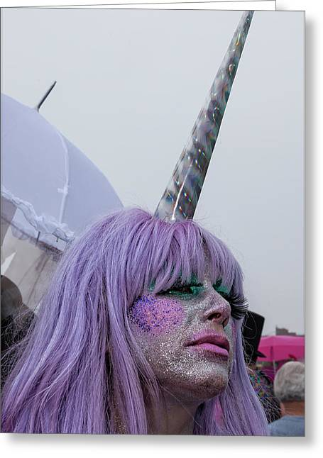 Mermaid Parade Coney Island Nyc 2017 Unicorn Costume Photograph By