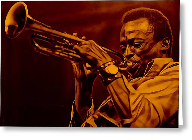 Miles Davis Collection Greeting Card