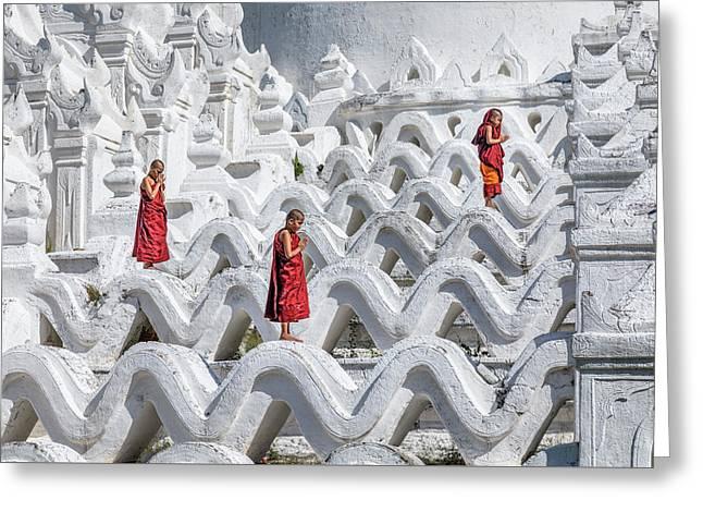 Mingun - Myanmar Greeting Card