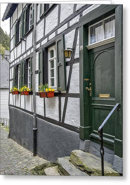 Monschau In Germany Greeting Card