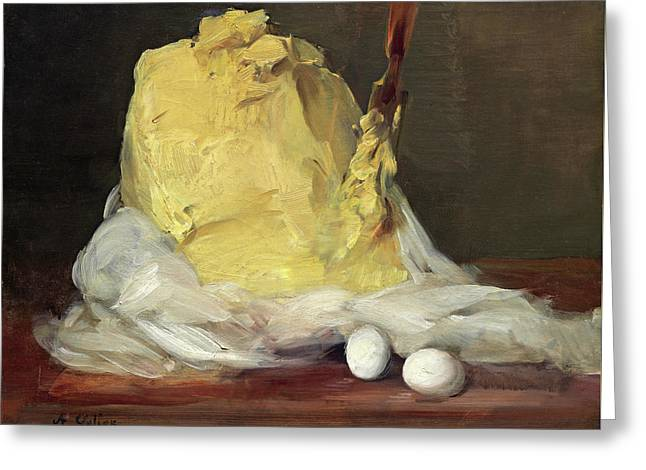 Mound Of Butter Greeting Card