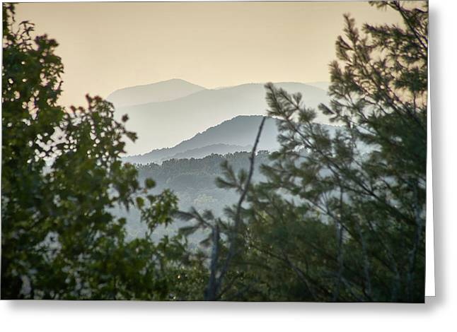 Greeting Card featuring the photograph Mountains In The Distance by Willard Killough III