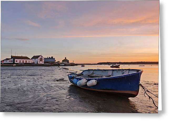 Mudeford Quay - England Greeting Card