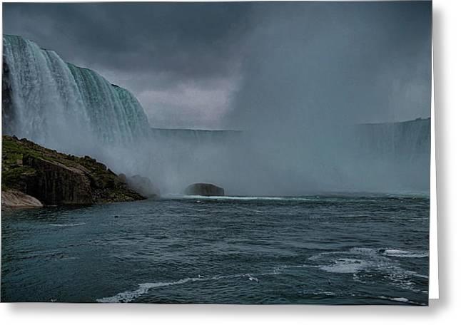 Niagara Falls Greeting Card by Martin Newman