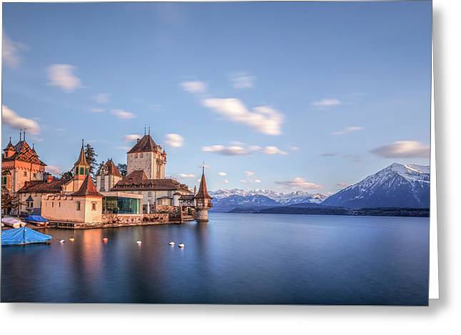 Oberhofen - Switzerland Greeting Card